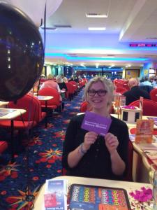 First time I ever won at bingo, well chuffed.