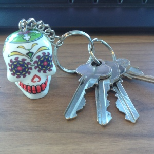 New keyring for my new keys.