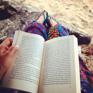 Time to relax with a book on the beach